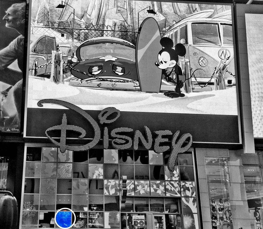 Time Square Disney Store Hidden Mickey Find Mickeys