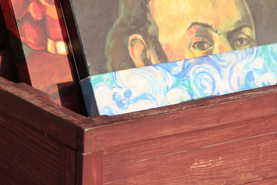 Epcot France Vincent Van Gogh Hidden Mickey Find Mickeys