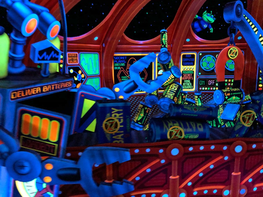 Buzz Lightyear's Space Ranger Spin Hidden Mickey Find Mickeys