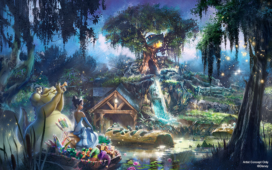 Splash Mountain to become New Adventures with Princess TianaFind Mickeys