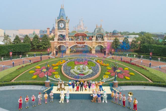 Shanghai Disneyland Reopens its Gates Find Mickeys