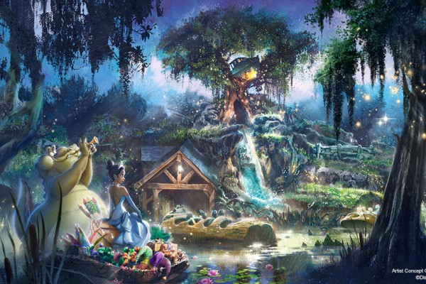 Splash Mountain to become New Adventures with Princess Tiana Find Mickeys